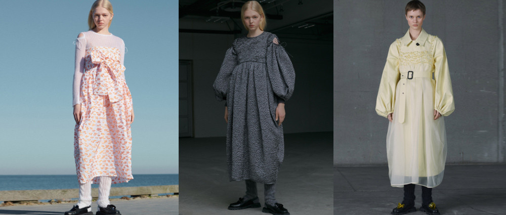 Cecilie Bahnsen 2021秋冬「The City」